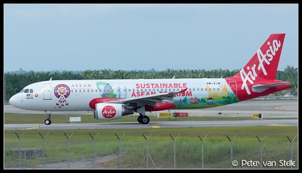 20200130 114014 6110159 AirAsia A320 9M-AJW SustainableAseanTourism-colours KUL Q2