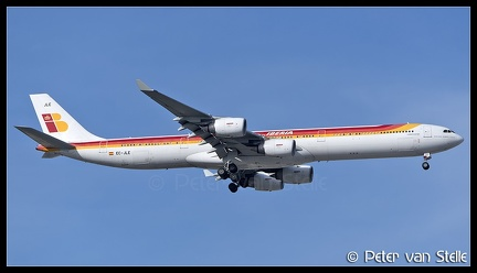 8050950 Iberia A340-600 EC-JLE old-colours MAD 22042017