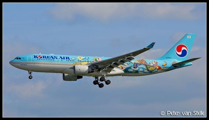 8016035 KoreanAir A330-200 HL8211 special Olympic-colours AMS 30052014