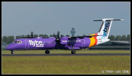 8016625 FlyBE DHC8-400Q G-ECOH new-colours AMS 01062014