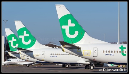 20200405 182542 6110976    overview-Transavia-B737s-on-K-ramp AMS Q1