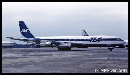 19850134 TEA B707 TF-AEA  BRU 30031985