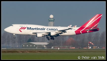 3003474 MartinairCargo B747-400F PH-MPS  AMS 31032009