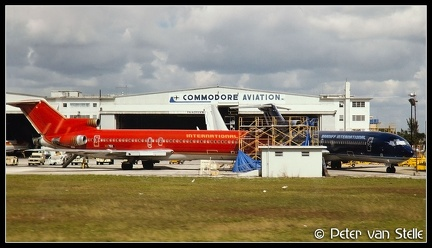 19930209    overview-Commodore-Aviation-ramp-BN-727s MIA 30011993