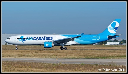 6106594 AirCaribes A330-300 F-HPUJ FrenchBee-colours ORY 15092019 Q1