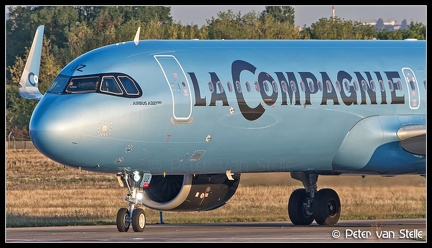 20190915 070457 6106483 LaCompagnie A321N F-HBUZ nose ORY Q1
