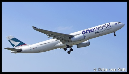 8060969 CathayPacific A330-300 B-HLU OneWorld-colours TPE 23012018