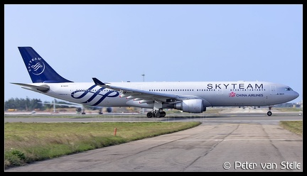 8060983 ChinaAirlines A330-300 B-18311 Skyteam-colours TPE 23012018