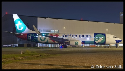 6103000 Transavia B737-800W PH-HSI PeterPan-colours AMS 08112017