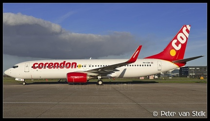 6103050 Corendon B737-800W PH-CDH new-colours AMS 17112017