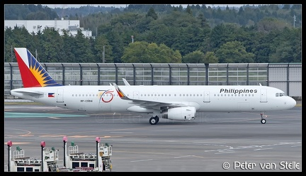8045537 Phillipines A321W RP-C9914 75-years-stickers NRT 12112016