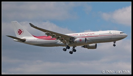 3012304 AirAlgerie A330-200 7T-VJY CDG 02072011