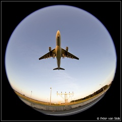 8033677 KLM A330-200 PH-AOA art-sun-fisheye-8mm AMS 09082015
