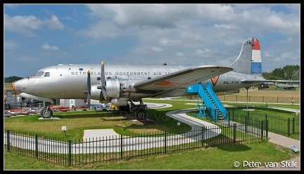 8017451 NetherlandsGovernmentAirTransport DC4 NL-316 Aviodrome-museum LEY 15062014