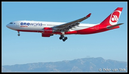 8019649 AirBerlin A330-200 D-ABXE OneWorld-colours PMI 12072014