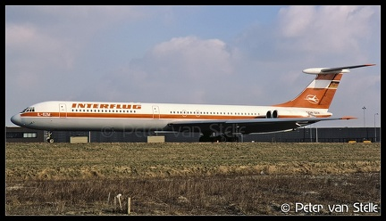 19860214 Interflug IL62 DDR-SER  AMS 08021986 (8038218)