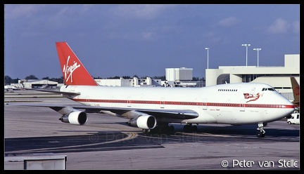 19880841 Virgin B747-200 G-VIRG  MIA 09101988