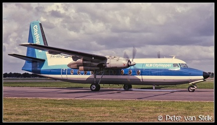 19801325 NLMCityhopper F27 PH-ARO  RTM 13091980