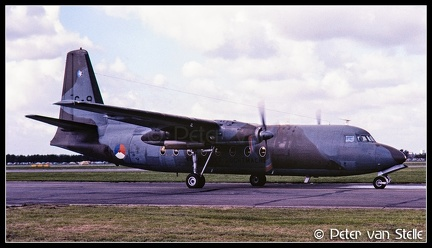19801326-1 RoyalNetherlandsAirForce F27 C-8  RTM 13091980