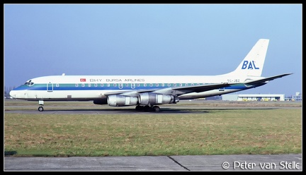 19820121 BursaAirlines DC8-52 TC-JBZ  MST 13021982