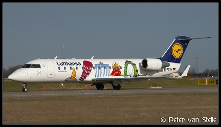 2001172 Lufthansa CRJ200 D-ACJH Cities-of-Europe-colours AMS 22032007