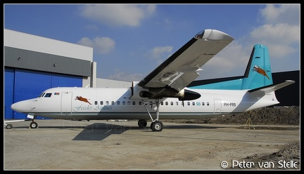 2001145 FeederAirlines Fokker50 PH-PRB  AMS 15032007
