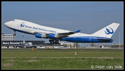 2001242 GreatWallAirlines B747-400F B-2428  AMS 11042007
