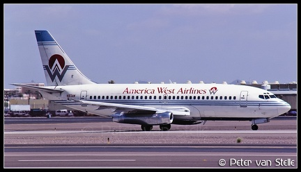 19970711 AmericaWestAirlines B737-200 N183AW  PHX 13061997