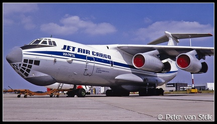19911441 JetAirCargo IL76TD CCCP-76484 nose MST 25081991